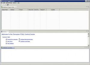 PCC v11 GUI at start